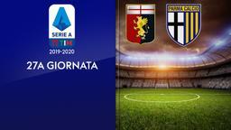 Genoa - Parma. 27a g.