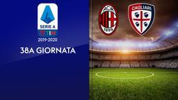 Milan - Cagliari. 38a g.
