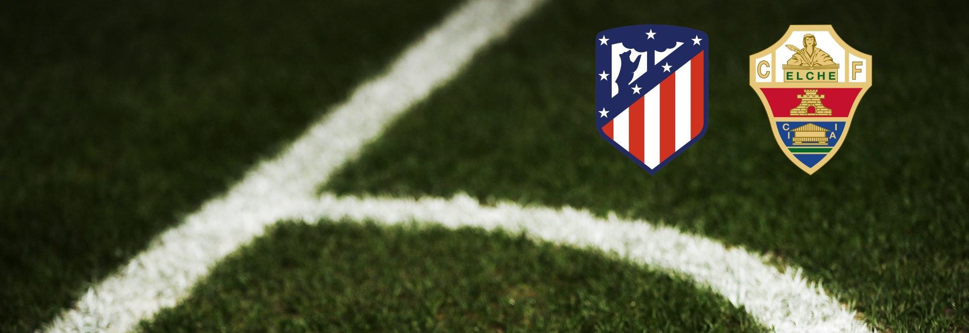 Atlético Madrid - Elche. 14a g.