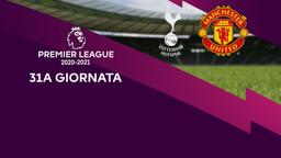Tottenham - Manchester United. 31a g.