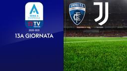 Empoli - Juventus. 13a g.