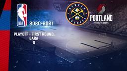 Denver - Portland. Playoff - First Round. Gara 5