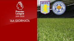 Aston Villa - Leicester City. 16a g.
