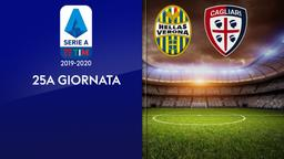 Verona - Cagliari. 25a g.