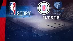 LA Clippers - Memphis 11/05/12. Gara 6