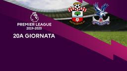 Southampton - Crystal Palace. 20a g.