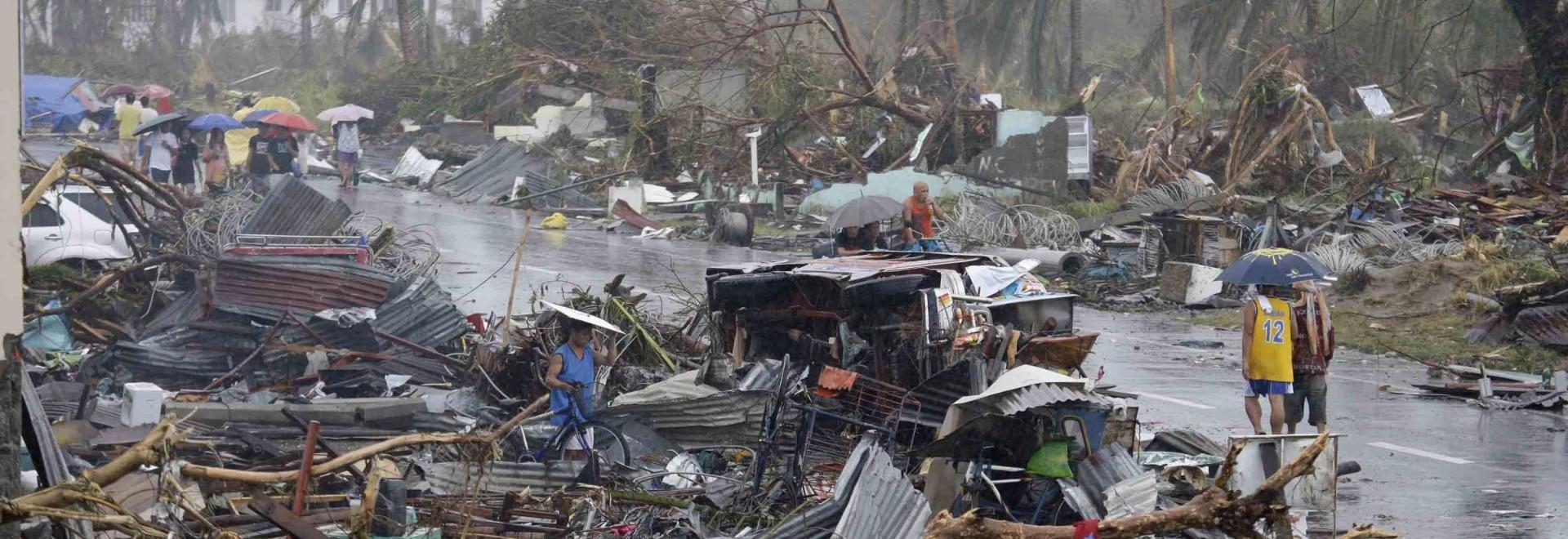 Tifone Haiyan: furia devastante