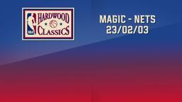 Magic - Nets 23/02/03