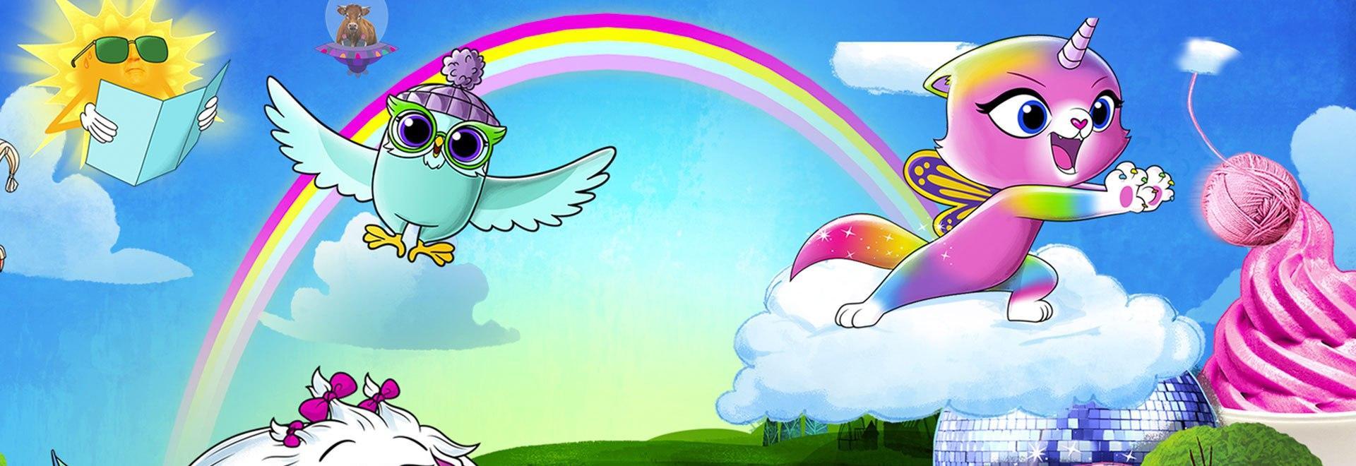 Mythic scout / Arcobaleno farfalla unicorno cupido