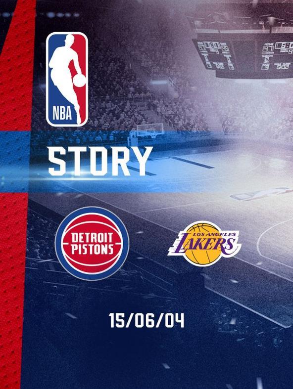 NBA: Detroit - LA Lakers 15/06/04