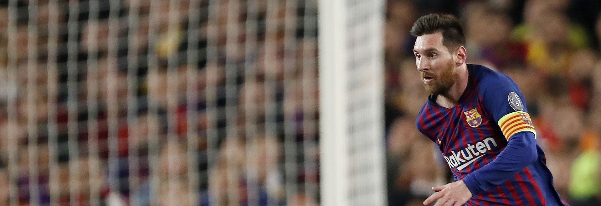 Champions League: Messi tutti i gol