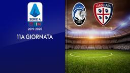 Atalanta - Cagliari. 11a g.
