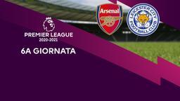 Arsenal - Leicester City. 6a g.