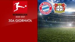Bayern Monaco - Bayer Leverkusen. 30a g.