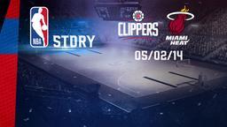 L.A. Clippers - Miami 05/02/14