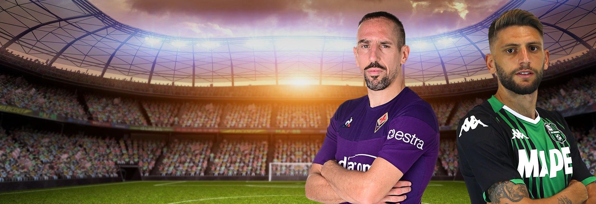 Fiorentina - Sassuolo. 29a g.