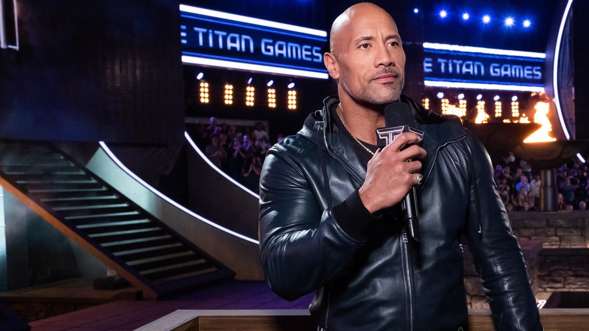 Blaze HD Titan Games con The Rock