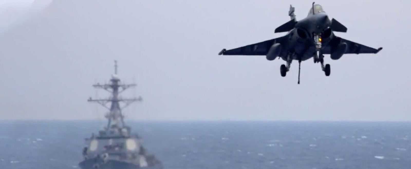Charles De Gaulle: Come si smonta e rimonta una portaerei
