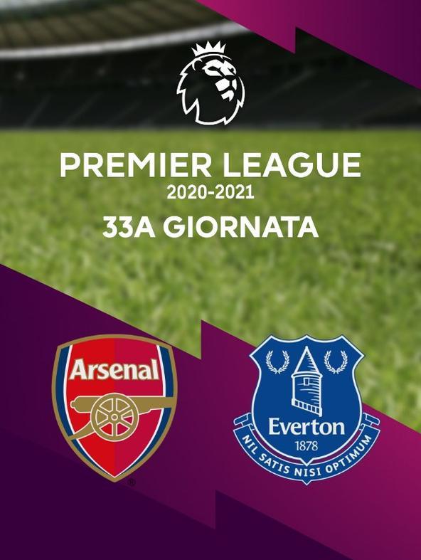 Arsenal - Everton. 33a g.