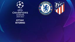 Chelsea - Atletico Madrid. Ottavi Ritorno