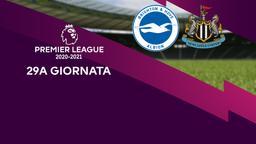 Brighton & Hove Albion - Newcastle. 29a g.