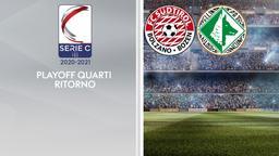 Sudtirol - Avellino. Playoff Quarti Ritorno