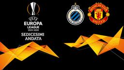 Brugge - Man Utd. Sedicesimi Andata