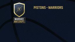 Pistons - Warriors