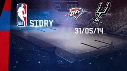 Oklahoma City - San Antonio 31/05/14. Playoff Conference Finals Gara 6