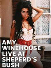 Amy Winehouse Live at Sheperd's Bush
