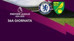 Chelsea - Norwich City. 36a g.