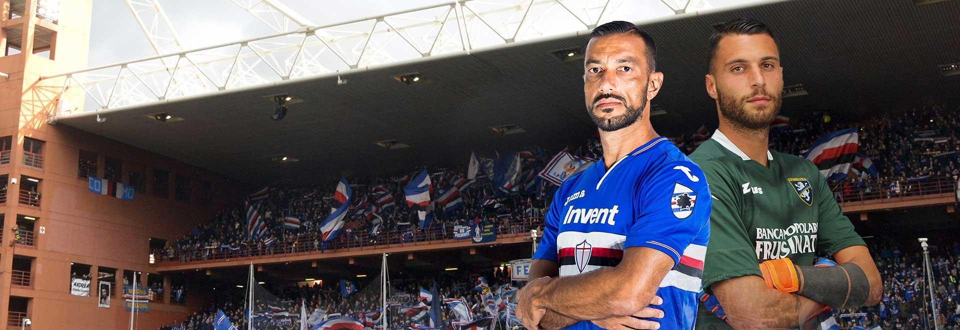 Sampdoria - Frosinone. 23a g.