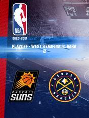 Phoenix - Denver. Playoff - West Semifinals. Gara 2
