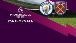 Manchester City - West Ham United. 26a g.