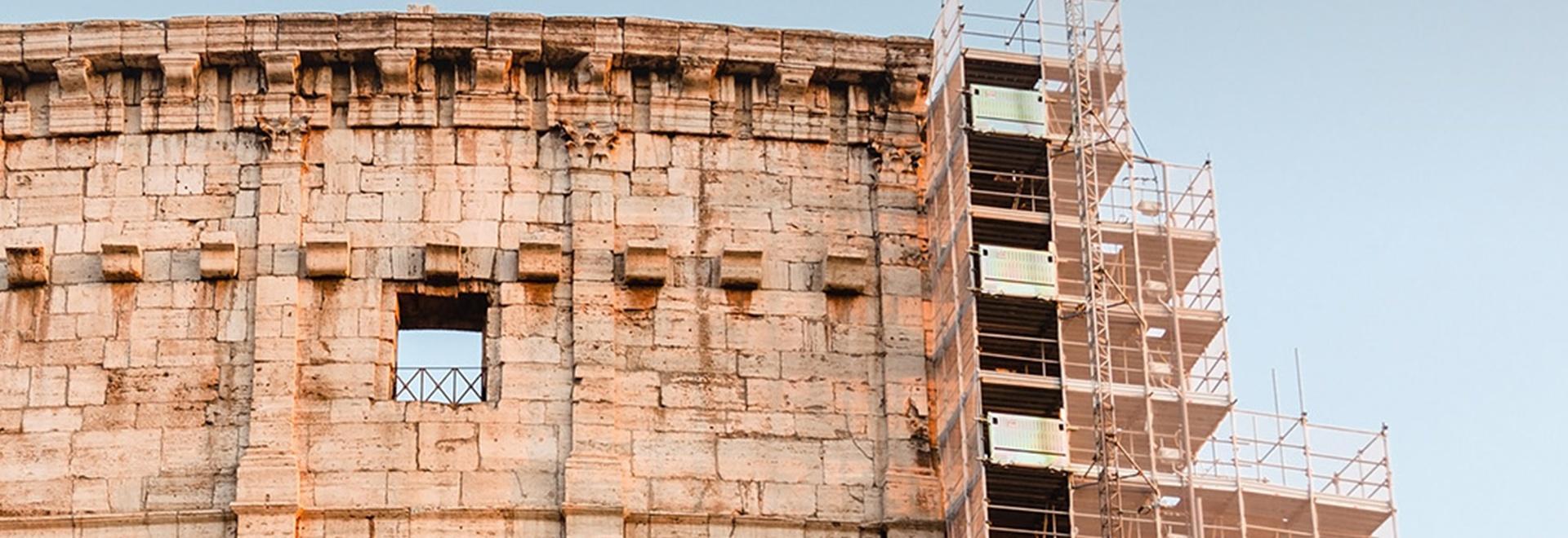 La rinascita del Colosseo