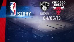 Brooklyn - Chicago 04/05/13. Playoff Gara 7