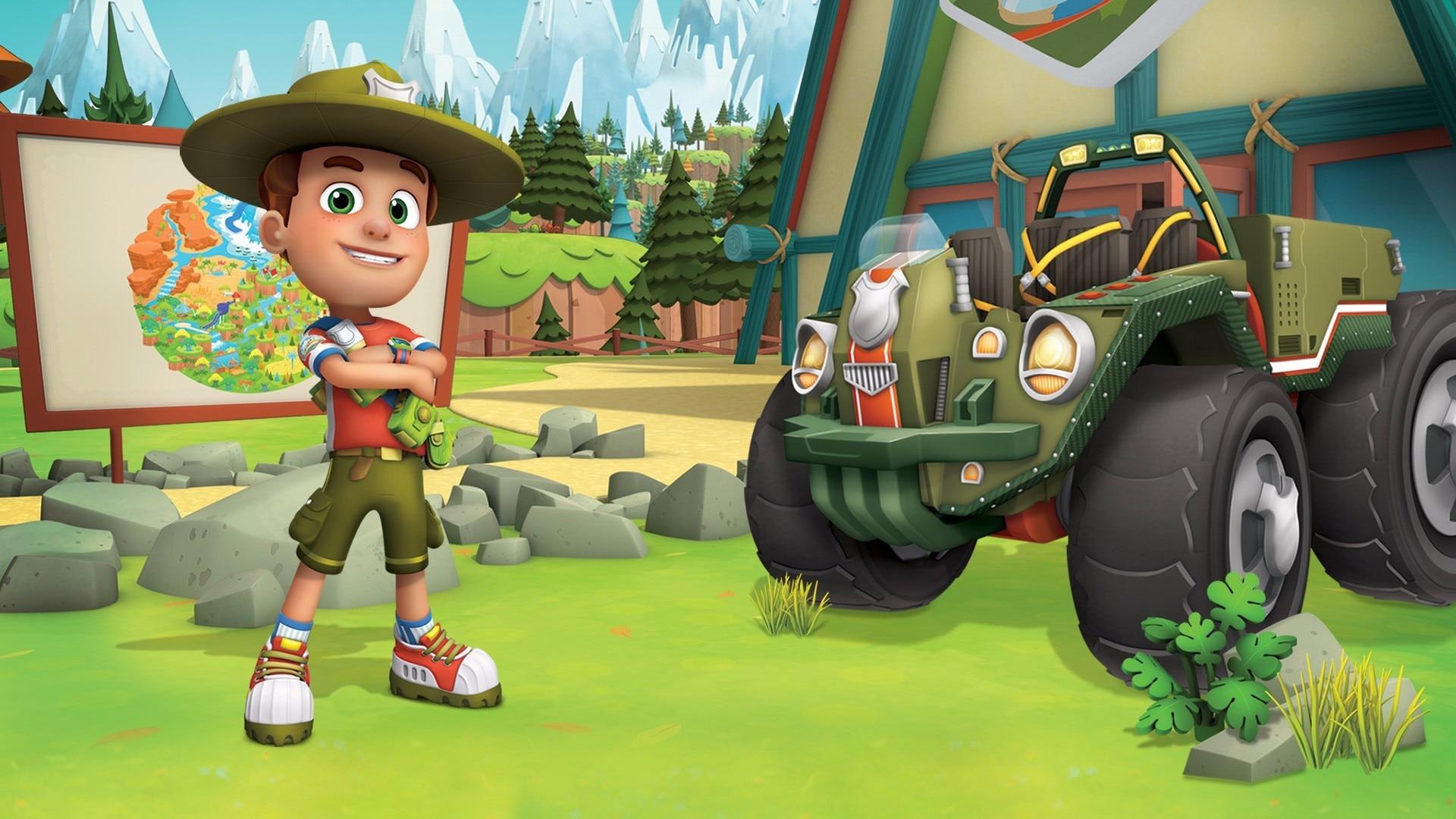 Nick Jr Ranger Rob