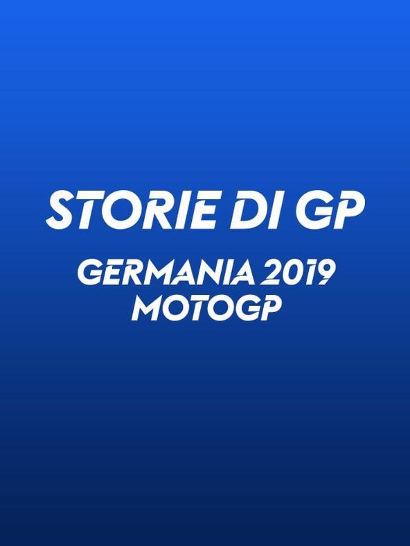 Germania. Sachsenring 2019. MotoGP