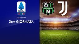 Sassuolo - Juventus. 36a g.