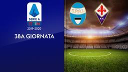 Spal - Fiorentina. 38a g.