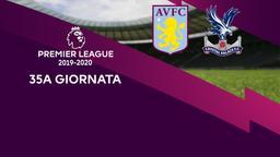 Aston Villa - Crystal Palace. 35a g.