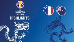 Francia - Australia. Finale 3° posto