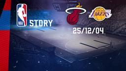 Miami - LA Lakers 25/12/04