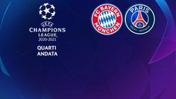 Bayern Monaco - Paris. Quarti Andata