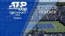 Djokovic - Federer 23/08/15. Finale