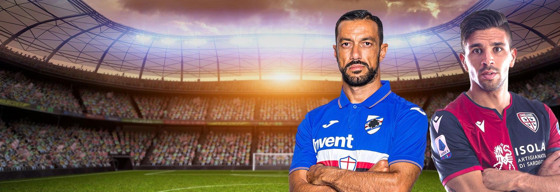 Sampdoria - Cagliari. 33a g.