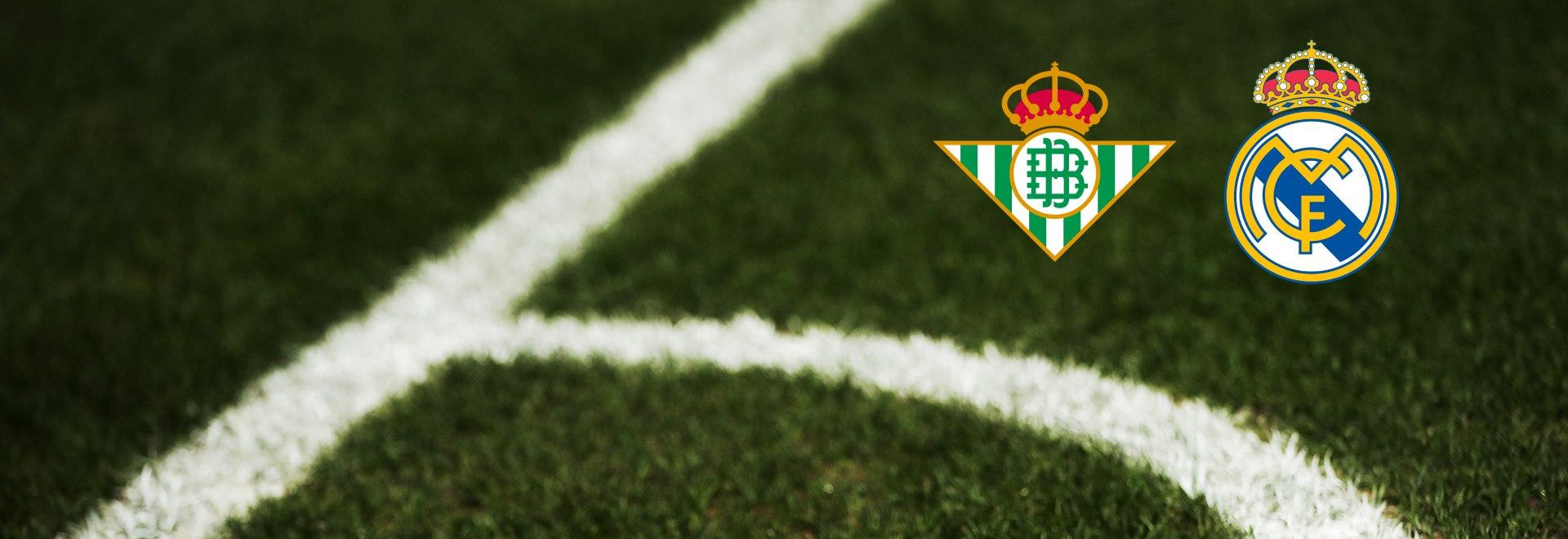 Real Betis - Real Madrid. 27a g.