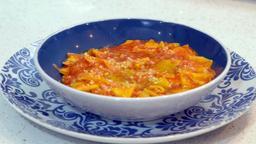 Mascarpone fritto / Maltagliato con cipolla