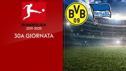 Borussia D. - Hertha B. 30a g.