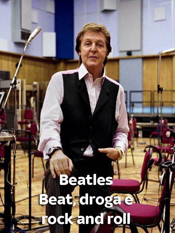Beatles - Beat, droga e rock and roll